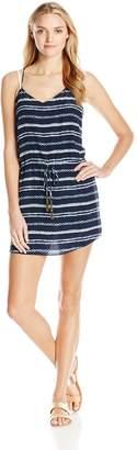 Vix Women's Istanbul Beline 100% Silk Short Dress Cover Up