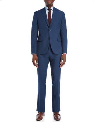 Michael Kors Two-Piece Blue Slim Fit Suit