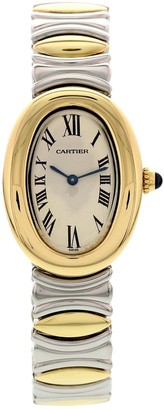 Cartier Vintage Baignoire Anthracite gold and steel Watches