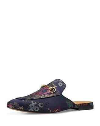 Gucci Princetown Donald Duck Jacquard Slipper, Multicolor $695 thestylecure.com