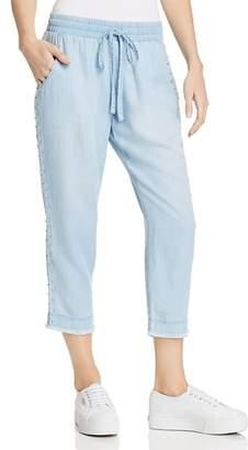 Bella Dahl Beaded Chambray Pants