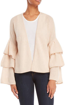 Minnie Rose Cashmere Bell Sleeve Cardigan
