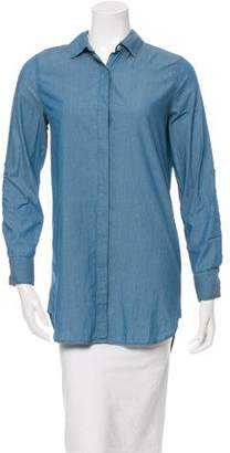 MiH Jeans Long Sleeve Button-Up Top w/ Tags