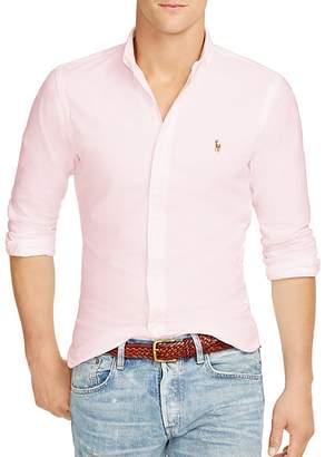 Polo Ralph Lauren Slim-Fit Stretch-Oxford Shirt $98.50 thestylecure.com