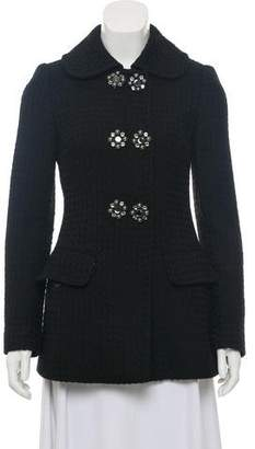 Dolce & Gabbana Double-Breasted Wool Jacket