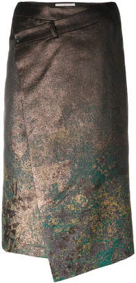 A.F.Vandevorst asymmetric texturised skirt
