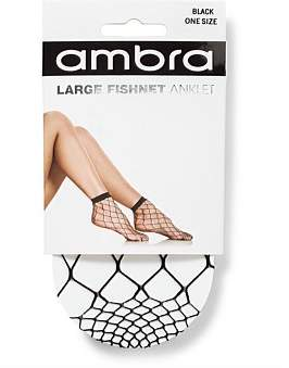 Ambra Large Fishnet Anklet