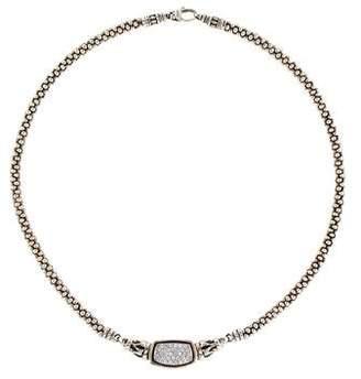 Lagos Diamond Caviar Collar Necklace