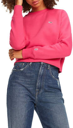 Tommy Jeans Cropped Crew Neck Sweatshirt