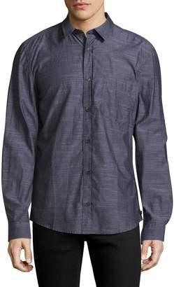 7 For All Mankind Men's Denim Shirt