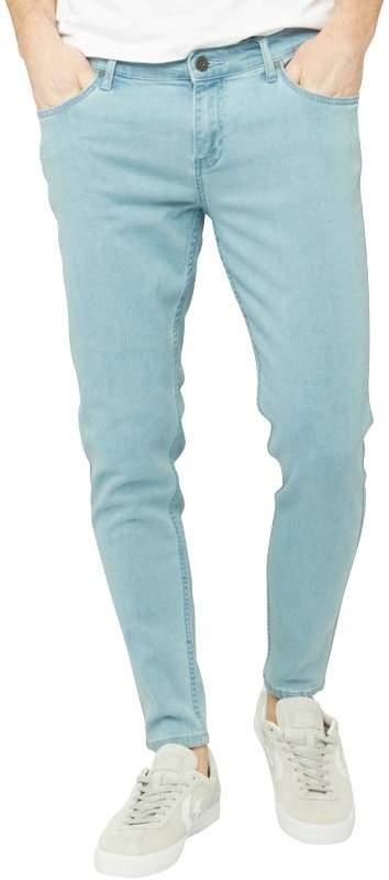Herren Howells Jeans in Slim Passform Hellblau