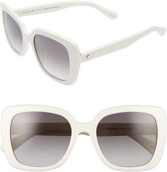 Kate Spade Krystalyn 53mm Sunglasses