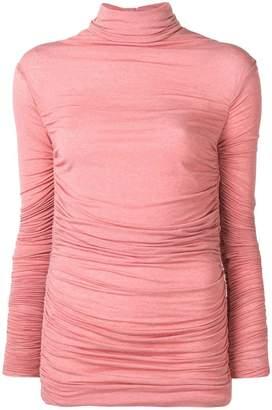 Pinko draped knit top