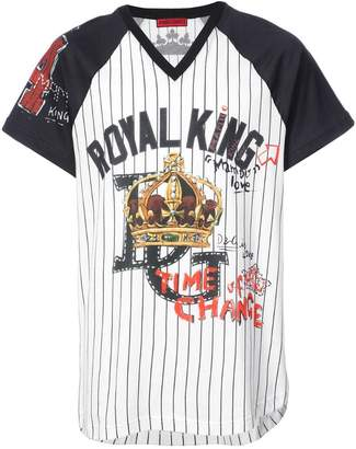 Dolce & Gabbana Royal King baseball T-shirt