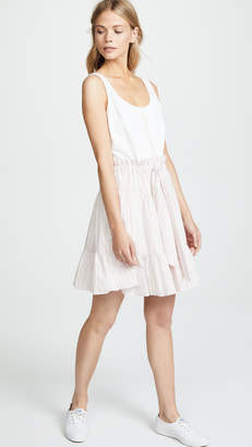 Rebecca Taylor Stripe Jersey Dress