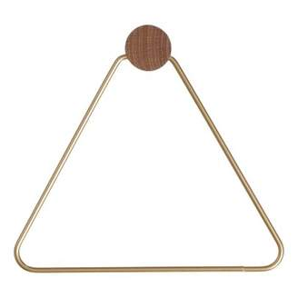 ferm LIVING Triangle Brass Coat Hooks