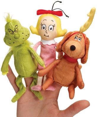 Dr. Seuss Dr. Seuss's The Grinch Finger Puppet Set by Manhattan Toy