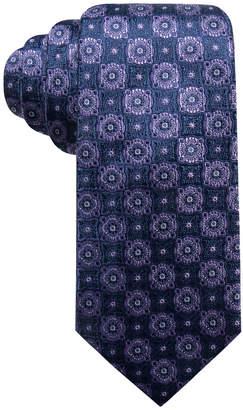 Tasso Elba Men's Medallion Silk Tie, Created for Macy's