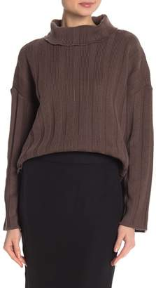 Lucca Couture Jennifer Rib Turtleneck Sweater