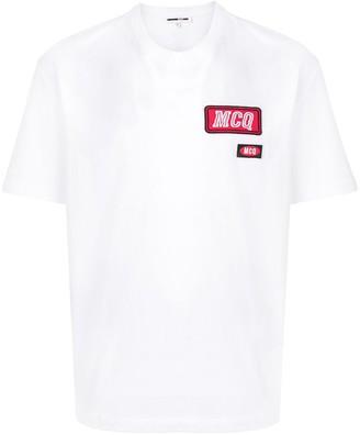 McQ logo patch T-shirt