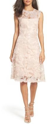 Women's Tadashi Shoji Fit & Flare Dress $468 thestylecure.com