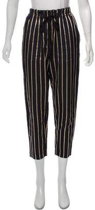 Giada Forte Striped Cropped Pants
