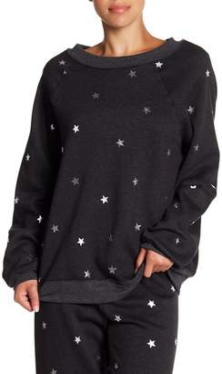 Wildfox Couture Twinkle Foil Star Sweater