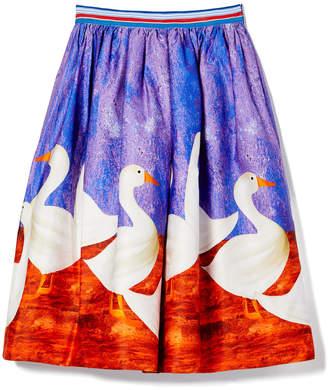 Stella Jean Skirt with Ducks
