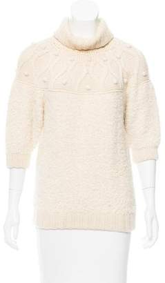 Mayle Alpaca Turtleneck Sweater