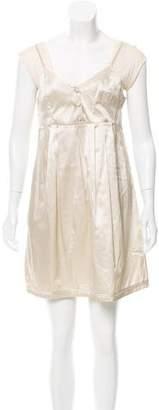 See by Chloe Satin Mini Dress