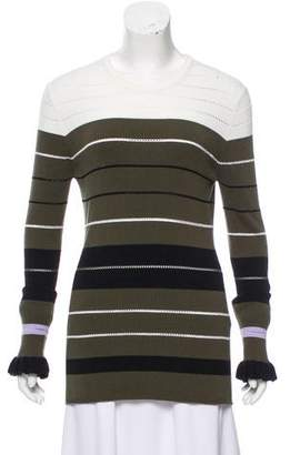 Opening Ceremony Striped Knit Sweater