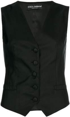 Dolce & Gabbana button-up waistcoat