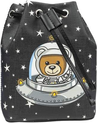 Moschino Space Teddy Bucket Bag