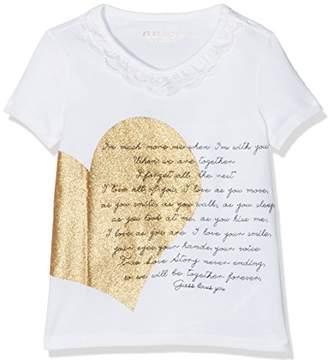 GUESS Girl's Ss T T-Shirt,Size:4