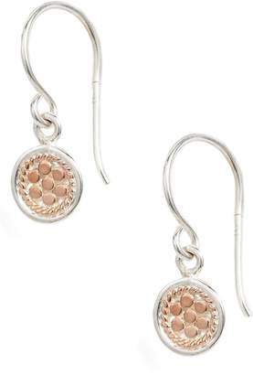 Anna Beck Petite Disc Drop Earrings