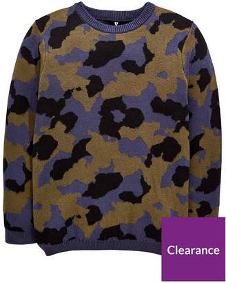 Very Camo Knitted Jumper - Camo