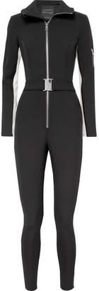 Cordova - The Aspen Striped Ski Suit - Black