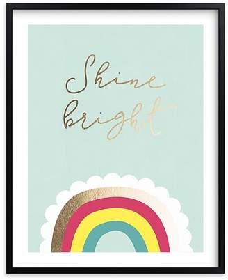 Pottery Barn Kids Shine Bright Wall Art by Minted®, Black, 8x10