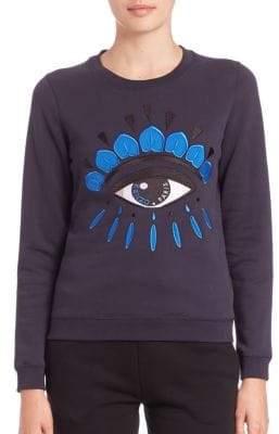 Kenzo Classic Eye Icon Cotton Sweatshirt