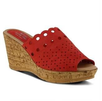 Spring Step Nava Cork Heel Slide