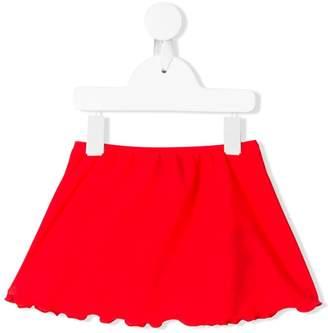 John Richmond Junior logo print skirt