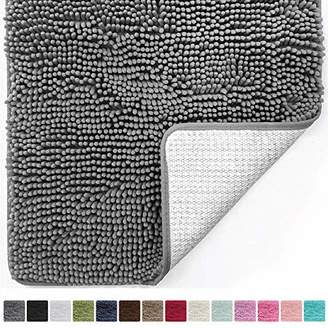 Gorilla Grip Original Luxury Chenille Bathroom Rug Mat (30 x 20)