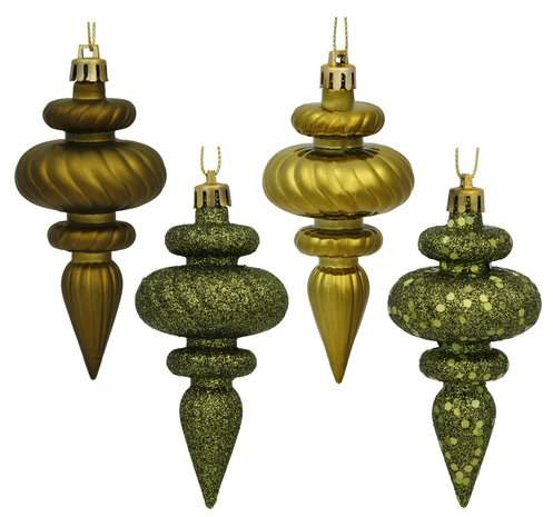Mercer41 Finial Assorted Christmas Ornament