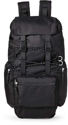 Steve Madden Black Ripstop Climber Backpack