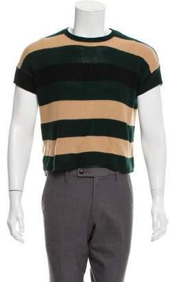 Marni Short Sleeve Cashmere Sweater