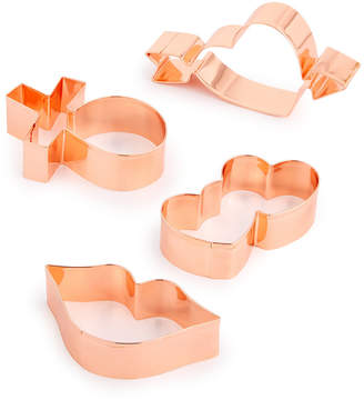 Martha Stewart Collection 4-Pc. Copper Cookie Cutter Set, Created for Macy's