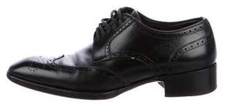 Tom Ford Leather Wingtip Brogues