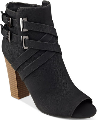 G by GUESS Jackson Ankle Booties $79 thestylecure.com