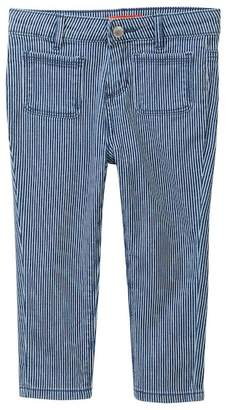 Joe Fresh Railroad Stripe Pants (Toddler & Little Girls)