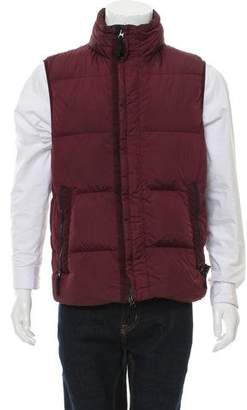 Stone Island Down Filled Zip-Up Vest